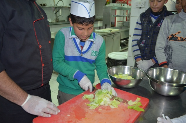 Cooking at Teatro