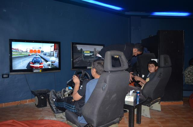 Saturday Trip to Gaming Center